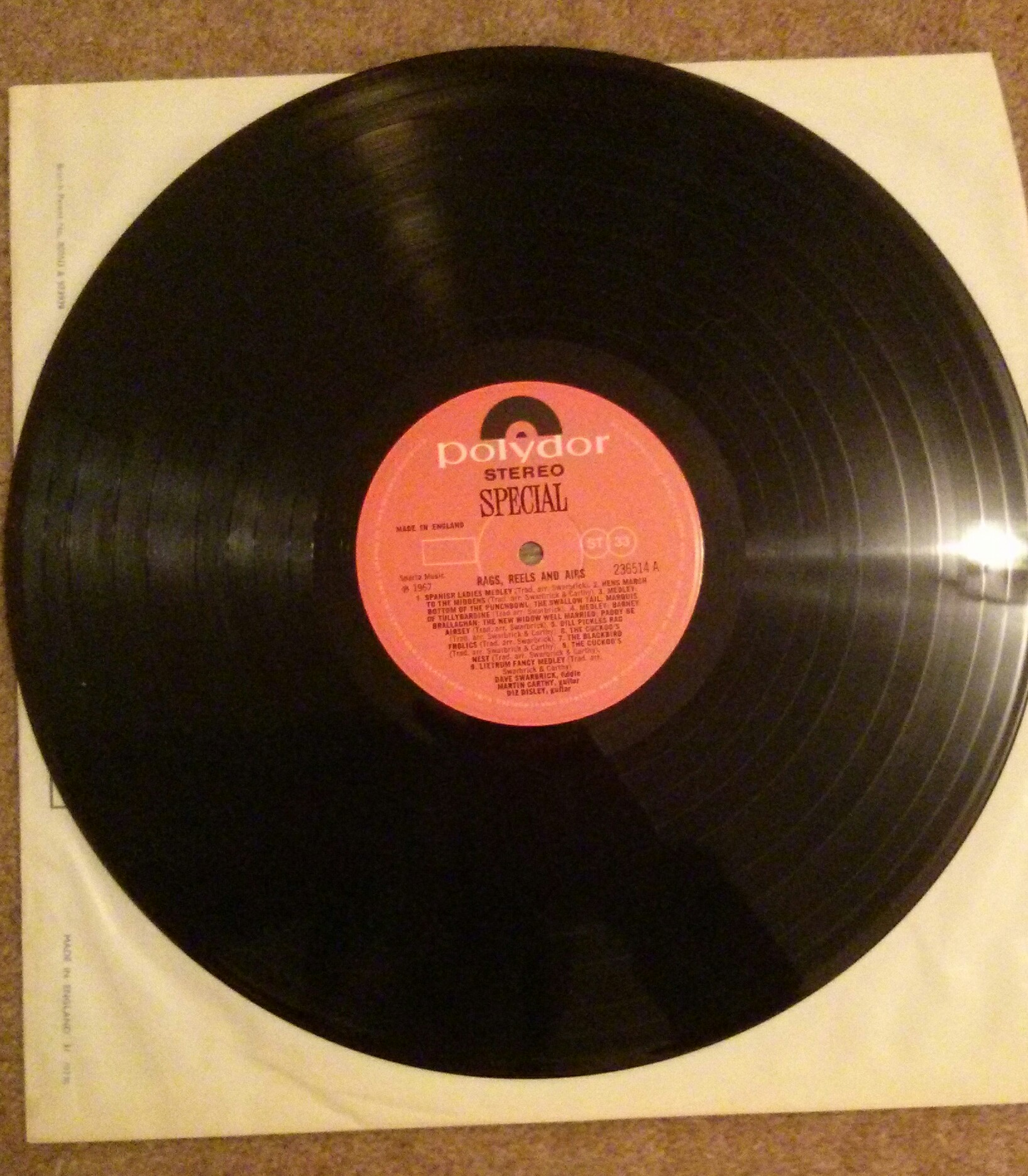 Rags Reels Amp Airs L Dave Swarbrick Eric S Records